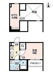 REVE鶴舞[2階]の間取り