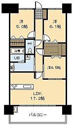 (新築)アルファスマート神宮北[5号室]の間取り