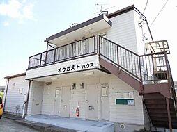 愛知県長久手市岩作中縄手の賃貸アパートの外観