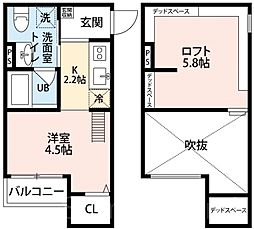 Secretariat(セクレタリアト)[2階]の間取り