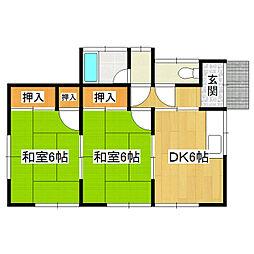 [一戸建] 茨城県つくば市上横場 の賃貸【茨城県 / つくば市】の間取り