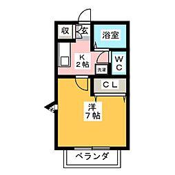 ACANTHUS[2階]の間取り