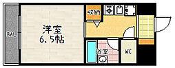 萱野ビル[1003号室]の間取り