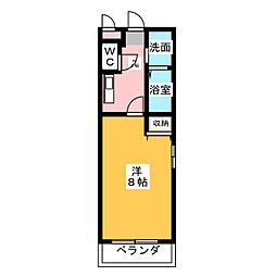 プリミエールI・T[2階]の間取り