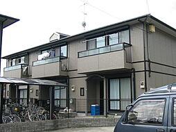 京都府京都市北区上賀茂岡本町の賃貸アパートの外観