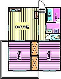 第2小池ビル[4階]の間取り