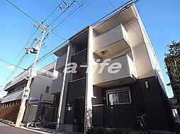 兵庫県神戸市灘区弓木町2丁目の賃貸アパートの外観