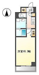 ラフィーネ・大島[1階]の間取り