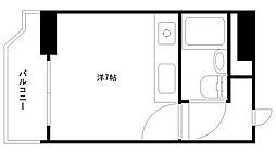 マッセ新大阪ハイツ新館[4階]の間取り