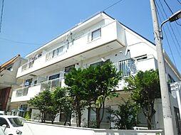 龍田コーポラス[3階]の外観