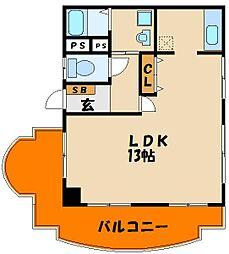 ドエル・めぐみ[2階]の間取り