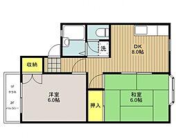 アーバンハウス21[105号室号室]の間取り