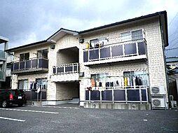静岡県裾野市御宿の賃貸アパートの外観
