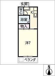 マイハウスあつみ[1階]の間取り