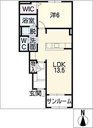 マノン[1階]の間取り