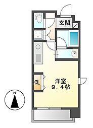 MINA葵(ミーナアオイ)[3階]の間取り