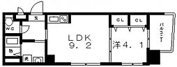 An Jubbeh(アン・ジュバン)[2階]の間取り