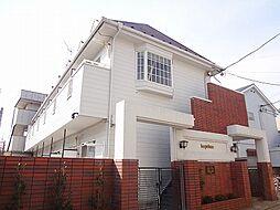 東京都豊島区長崎2の賃貸アパートの外観