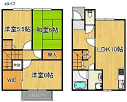 ハーブプラザ和泉鳥取I番館[1階]の間取り
