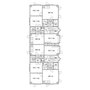間取り,2DK,面積40.09m2,賃料3.4万円,,,北海道釧路市愛国西1丁目3-11