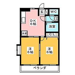 AVOIR−S[1階]の間取り