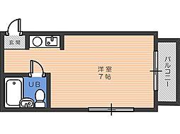 シャレールタナベ[3階]の間取り