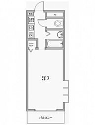 Raffine FUKUTOMI[2階]の間取り