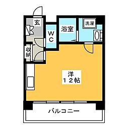 ヨーロピアン博多[6階]の間取り