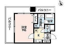 シティベース桜丘[6階]の間取り