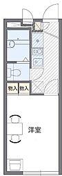 東京都葛飾区四つ木4丁目の賃貸アパートの間取り