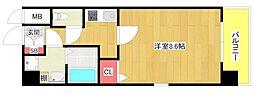 クリスタルグランツ大阪BAY[4階]の間取り