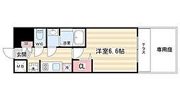 プレサンス京都二条京華 101[1階]の間取り