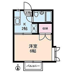 メゾネート5[2階]の間取り