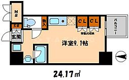 エスティライフ大阪都島[7階]の間取り