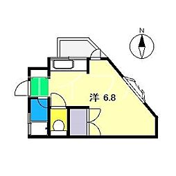 マリブハウス[2階]の間取り