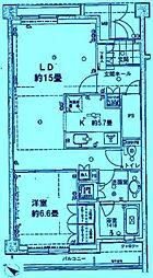 プレール日吉台[5階]の間取り