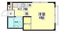 フラワーメゾン[3階]の間取り