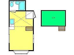 ブルーラック[2階]の間取り