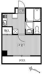 ファミール二子[1階]の間取り