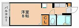 リブエ−ル136[1階]の間取り