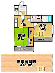福商ビル[3階]の間取り