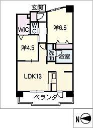 テラッツァ白壁[3階]の間取り