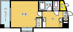藤本ビルNo.21[704号室]の間取り
