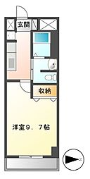 プレストンズ新栄[7階]の間取り
