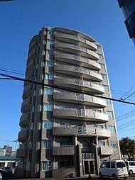 北海道札幌市白石区平和通1丁目北の賃貸マンションの外観
