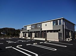 栃木県栃木市平井町の賃貸アパートの外観