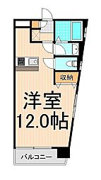 エバー綾瀬II[5階]の間取り