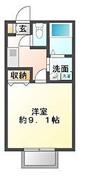 千葉県船橋市習志野台5丁目の賃貸アパートの間取り