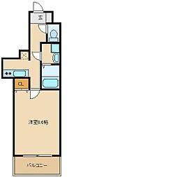 エアリーアベニュー[4階]の間取り