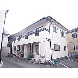 静岡県静岡市葵区瀬名川の賃貸アパートの外観